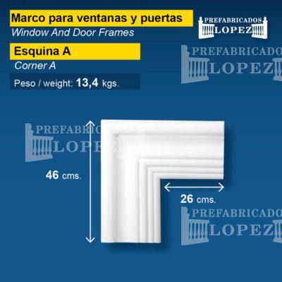 Remate Marcos Para Ventanas Y Puertas Remates Prefabricados López